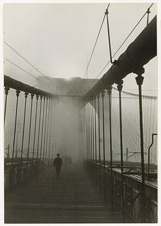 Brooklyn Bridge by Paul Grotz, 1929