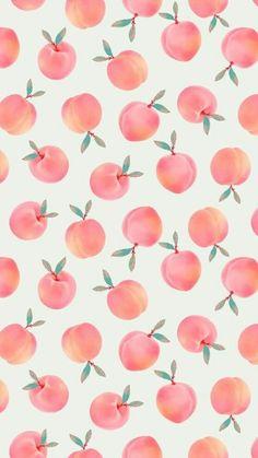 Peach Wallpaper, Summer Wallpaper, Iphone Background Wallpaper, Cellphone Wallpaper, Screen Wallpaper, Aesthetic Iphone Wallpaper, Cool Wallpaper, Mobile Wallpaper, Aesthetic Wallpapers