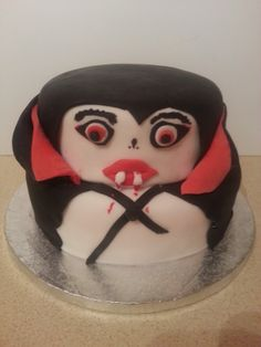 Dracula Birthday Cake