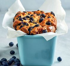 Peanut butter-and-blueberry loaf | Woolworths TASTE