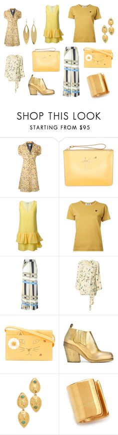 """""""cool"""" by kristen-stewart-2989 on Polyvore featuring Giuseppe Zanotti, Viktor & Rolf, Play Comme des Garçons, MSGM, Ganni, Charlotte Olympia, Marsèll, Lizzie Fortunato, Maya Magal and Kenneth Jay Lane"""