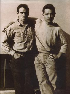 Jack Kerouac and Neal Cassady
