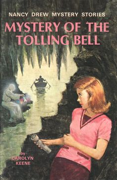 """I want her outfit!  :D  Nancy Drew #23 - """"The Mystery of the Tolling Bell"""""""