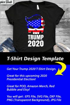 T Shirt Design Template, Amazon Merch, Jpg File, Presidential Election, Funny Tshirts, Pop Culture, Bubble, You Got This, Shirt Designs