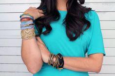 Zipper bracelets | 100 Ways to Repurpose Everything