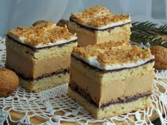 Eclairs, Food Cakes, Cupcake Cakes, Baking Recipes, Cake Recipes, Romanian Food, Polish Recipes, Polish Food, Yummy Cakes
