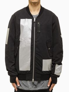 Reversible bomber jacket from F/W2014-15 Boris Bidjan Saberi 11 collection in black