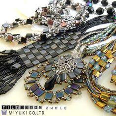 Tila Bead Jewelry Tutorials - The Beading Gem's Journal