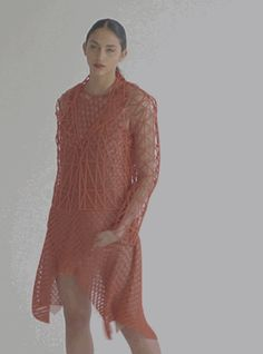 Danit Peleg Creates First 3D Printed Fashion Collection Printed Entirely at Home http://3dprint.com/83423/danit-peleg-3d-printed-fashion/