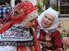 Dubňany - costumes from South Moravia, Czech Republic