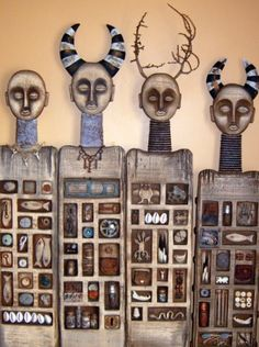 Robyn Gordon: Amazing carved totems. Inspiring website (robyngordon.weebly.com) and blog