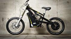 The Austrian-built EMX bike combines motocross, mountain biking and electric propulsion.