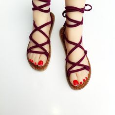 ZYZK Brand 2016 Summer Palm Leaf Handmade Beach Shoes Woman Ankle Strap Women Flat Ribbon Criss Cross Strap Sandals Shoe Casual