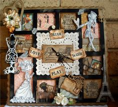 Great idea, love Graphic 45 Graphic 45, Fun Crafts, Paper Crafts, Love Wishes, Scrapbooking Layouts, Printers, Scrapbooks, Creative Inspiration, Trays