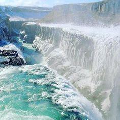 you_travel_Гюдльфосс, водопад в Исландии.