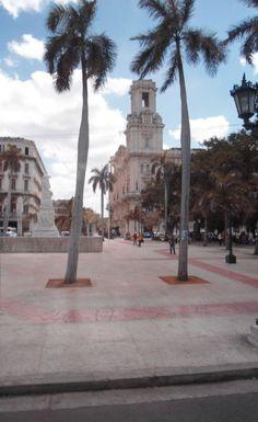 Vista del Parque Central - La Habana - Cuba