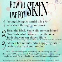 How to use essential oils on the skin. Essential oils can be quickly absorbed through the skin. Click through for a free essential oil course for beginners that will tell you when to dilute essential oils and lots more! Click through to register.