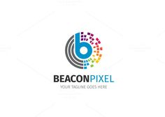 Pixel Letter B Logo by XpertgraphicD on Creative Market
