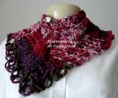 Gola tricot Jackard - knit - colw  by www.rosaacessorios.blogspot.com