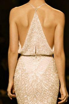 Beautiful dress...love the back