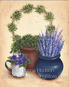 Topiary ePacket by Donna Hodson - PDF DOWNLOAD