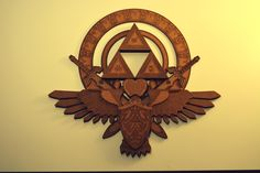 This is a freaking amazing, laser etched piece of Zelda awesome.  By /u/gmhafker on Reddit. Wood art