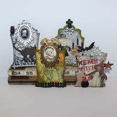 By Lynn Stevens for the Retro Café Art Gallery 2014 Tombstone Art Swap! www.RetroCafeArt.com