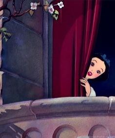 Snow White ~ Peek A Boo!