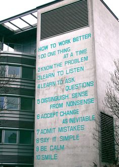 """How to Work Better"" Environmental Installation by  Swiss artists Fischli & Weiss"