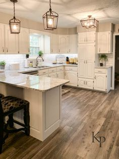 Kitchen Cabinets In Alabaster - Painted by Kayla Payne Painting Oak Kitchen cabinets. Kitchen Cabinets In Alabaster - Painted by Kayla Payne, Cream Kitchen Cabinets, Kitchen Cabinet Colors, Kitchen Paint, Kitchen Redo, Kitchen Colors, New Kitchen, Kitchen Ideas, Kitchen Designs, Kitchen Inspiration