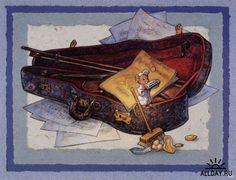 Image detail for -Весёлые музыканты. Scott Gustafson.