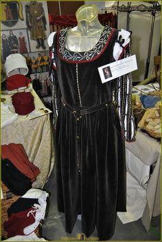 Dettaglio dell'abito di Barbara Pallavicino