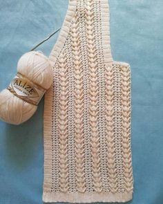 Damen-Weste, Modell Derya Baykal Damen-Weste, Modell For all seasons . Cable Knitting Patterns, Crochet Poncho Patterns, Crochet Motif, Diy Crochet, Crochet Designs, Knitting Designs, Crochet Stitches, Baby Knitting, Crochet Poncho With Sleeves