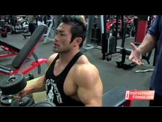 Personal fitness trainer Joe Tong teaches the proper way to do a dumbbell bench press.