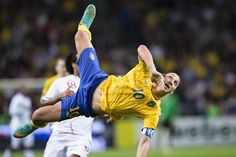 Was Ibrahimovic's goal the best volley of alltime?
