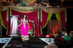 2014 NOV 23rd Suhaag Show at Hilton Hotel, Lac Lemay Hull. QC - Fashion Show Décor and Staging by us!