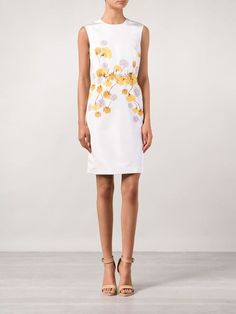 Giambattista Valli Floral Sheath Dress