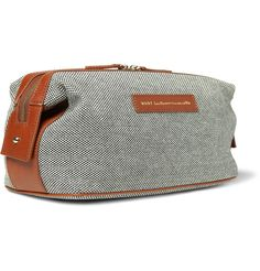 WANT Les Essentiels de la Vie Kenyatta Recycled Cotton Canvas Wash Bag | MR PORTER