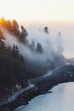Seaside Trail, Stanley Park, Vancouver, Canada