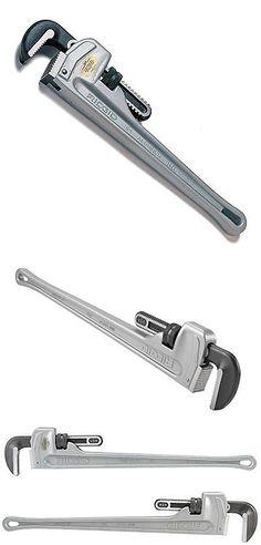 Pipe Wrenches 20772 Ridgid 31110 Model 836 Aluminum Straight Pipe Wrench 36-Inch  sc 1 st  Pinterest & Pipe Wrenches 20772: Ridgid 47057 Model 812 Aluminum Straight Pipe ...
