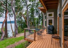 Orcas Island, #sanjuanislands vacation rental. Newly constructed three bedroom home just outside of #Eastsound Village. Bright and cozy, overlooking Ship Bay, Madrona Point, and across to Turtleback Mountain. #travel