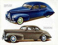 Nash Ambassador Eight Coupe Victoria 1939 - Mad Men Art: The 1891-1970 Vintage Advertisement Art Collection