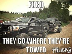 Funny Dodge Truck Jokes Ford jokes about dodge ~ memes Dodge Trucks Quotes, Truck Quotes, Truck Memes, Car Jokes, Funny Car Memes, Chevy Jokes, Hilarious, Truck Humor, Ford Memes