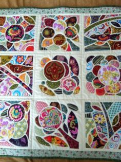 Would be cool to use some of these ideas for pillow covers.  Quilting Ideas | Project on Craftsy: Mosaic