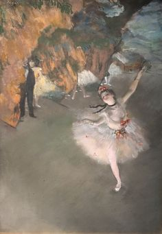 Edgar Degas and his famous paintings of ballet dancers, ballerina, blue dancers, facts about the impressionist who painted women simply and naturally Edgar Degas, Famous Impressionist Paintings, Degas Paintings, Art History Timeline, History Memes, History Books, Statue En Bronze, Greece History, 7 Arts