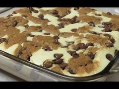 Chocolate Chip Cookie Dough Cheesecake Recipe |