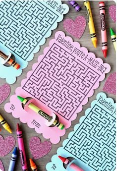 Sabrina Banks Photography — Maze Valentines w/ Crayons