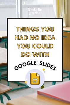 25 Things You Didn't Know Google Slides Could Do