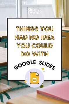 Classroom Tools, Google Classroom, School Classroom, Teaching Tips, Learning Resources, Teacher Resources, Teaching Technology, Educational Technology, Education Templates
