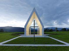 Capilla María Magdalena, Zollfeld, Austria - Sacher.Locicero.Architectes - © Paul Ott